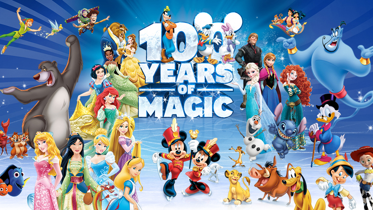 Disney On Ice Presents 100 Years Of Magic The Woodlands