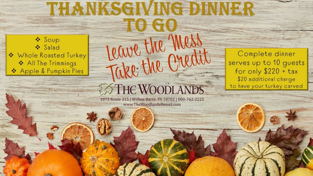 Thanksgiving To Go - The Woodlands Resort
